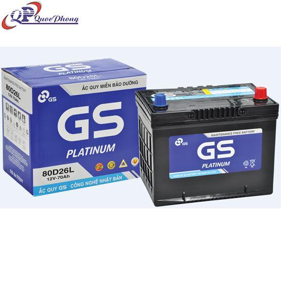 BÌNH GS MF 80D26L (12V, 70AH)