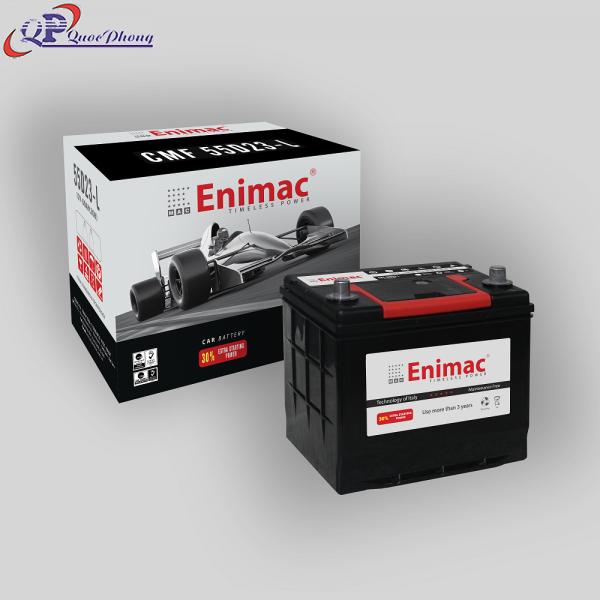 Ắc quy Enimac CMF 55D23-L (12V, 60AH)