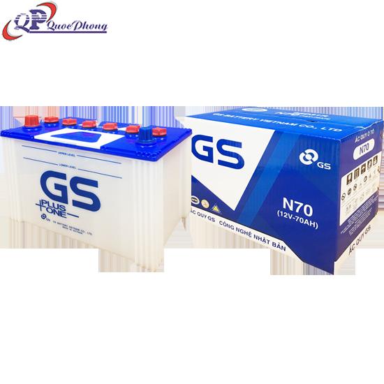 BÌNH GS N70 (12V-70AH)