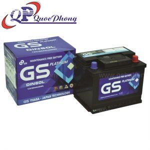 Ắc quy GS MF DIN60L (12V-60Ah)