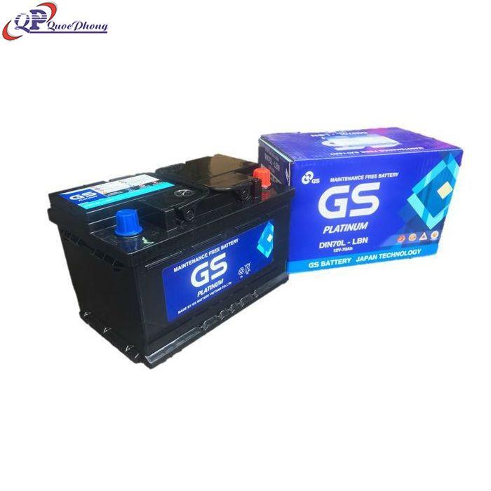 Bình GS MF DIN70L (12V-70AH)
