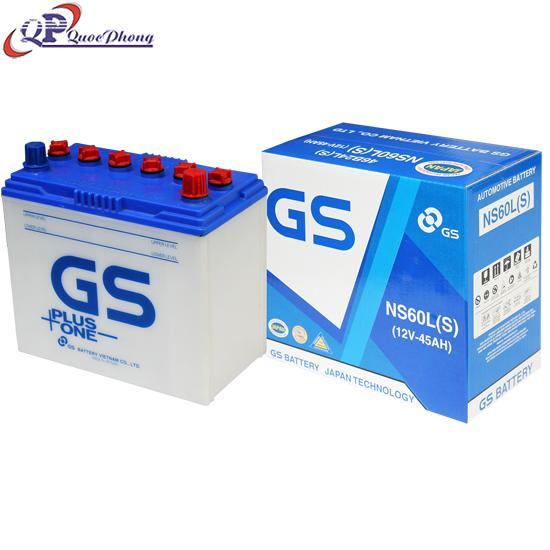 BÌNH GS NS60L(S) (12V-45AH)