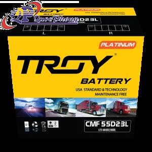 Ắc Quy TROY CMF 55D23L (12V, 60Ah)