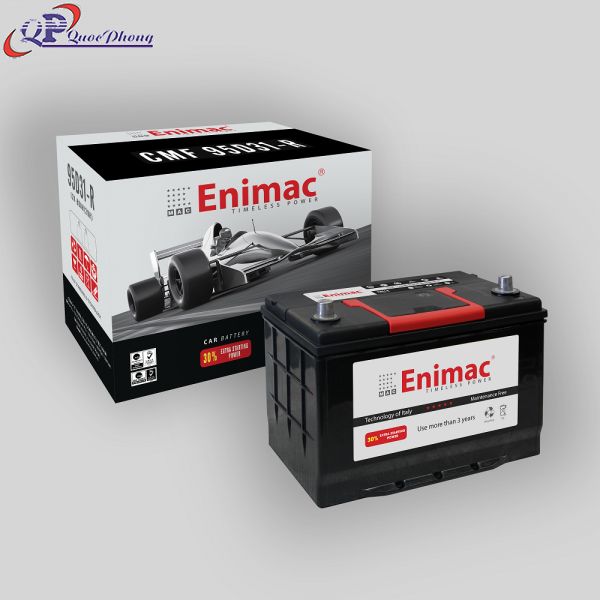 Ắc Quy Enimac CMF 95D31R (12V, 80Ah)
